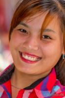 Burma 2012 - pige på marked