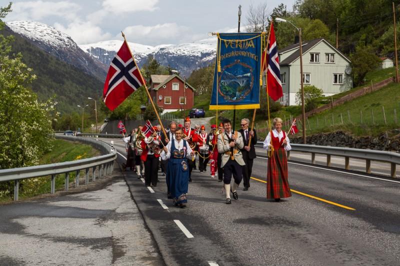 17 maj optog i Verma