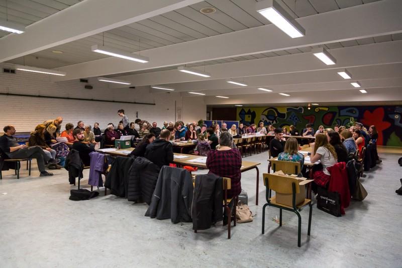 Vilhelmsborg Festspil - første gennemlæsning