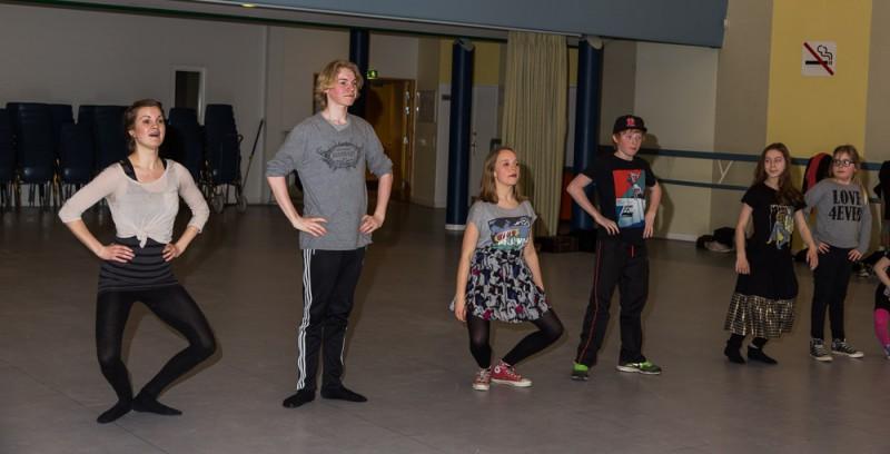 Danseøvelser