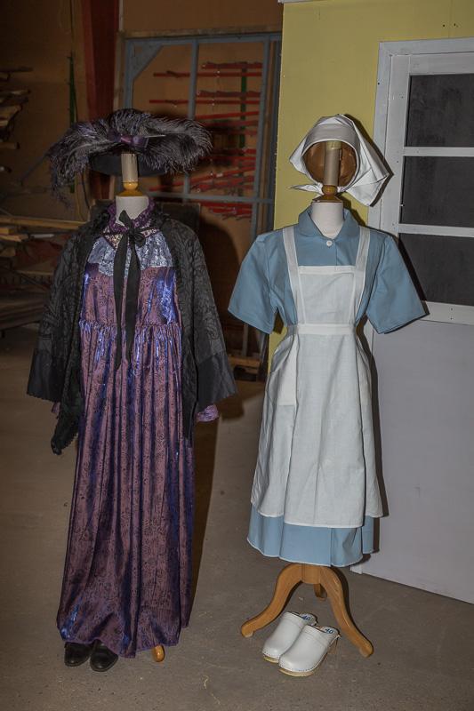 Kostumer til Misse og Agnes